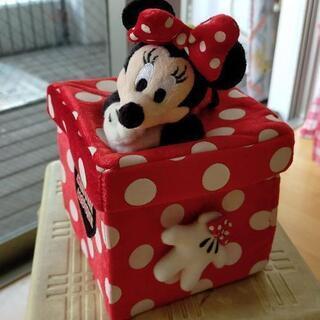 ミニーマウス 布製 ボックス