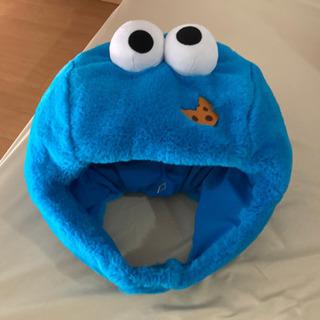 usj クッキーモンスターのフワフワ帽子
