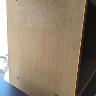 カラーボックス  3段 収納 本棚 - 函館市