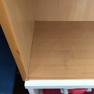 カラーボックス  3段 収納 本棚 - 家具