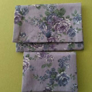 二ヶ所縫うだけで簡単に出来るお薬手帳ケース&ティッシュケースづくり