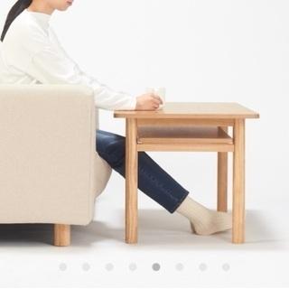 無印のミドルテーブル - 家具