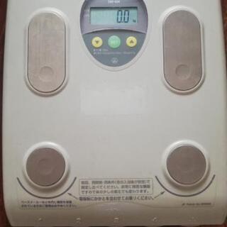 (受け渡し決定)タニタ体重計(TBF-534)