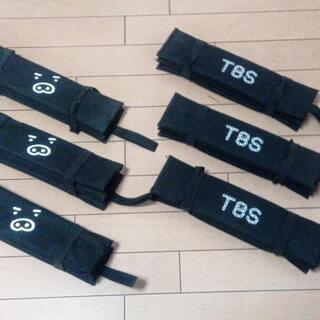 【実用】TBS携帯折畳シートクッション2種6枚組(使用時約33x...