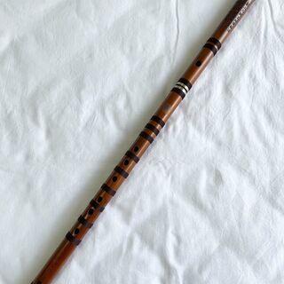 【ネット決済・配送可】(新品)中国笛子♭B調 王建宏笛簫WAB0120