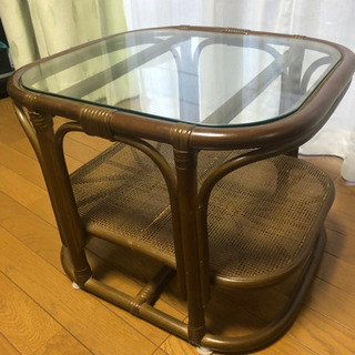 籐家具 コーヒーテーブル