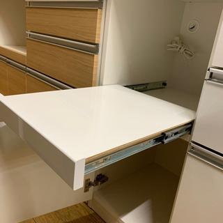 ⭐️10/14 値下げ⭐️松田家具 2面レンジボード アーバンStyle ハイカウンター 日本製 美品 - 売ります・あげます