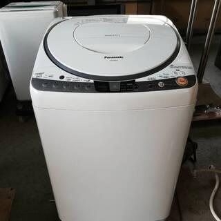 【061111】電気洗濯乾燥機 パナソニック NA-FR80H7...
