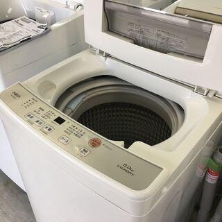 アクア6.0K洗濯機 2019年製!分解クリーニング済み!!