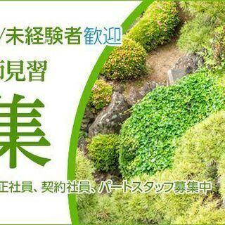 東京勤務 庭師(造園工・植木職人) 未経験者 契約社員/パートタイマー