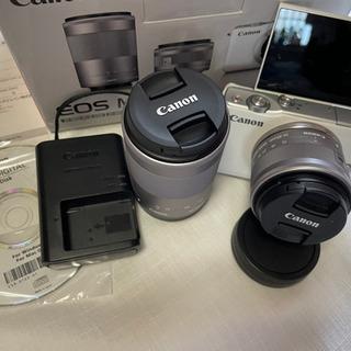 【ネット決済】Canon EOS M10 Wズームキット【保証8...