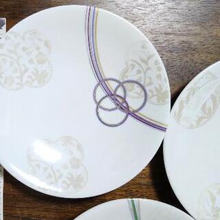 【値下げ!】結び柄の美しい銘々皿 5枚セット