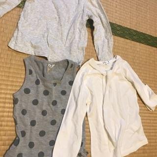 女の子用の服 110 cm