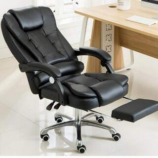 黒 新品 組み立て済み Fiti 社長椅子 オフィスチェア…