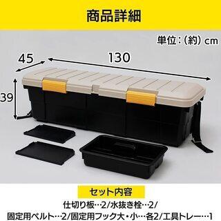 RV BOX(アイリスオーヤマCK-130)軽トラにぴったり