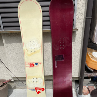《本日中^_^》スノーボード板のみ 2枚セットで - 一宮市