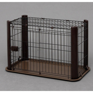 【ネット決済】【ペットサークル】犬ゲージ 場所をとらないゲージ