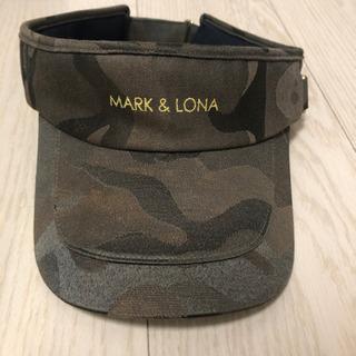 MARK&LONA マークアンドロナ カモフラ サンバイザー