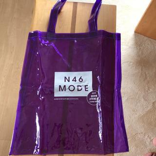 BIGトートバッグ ビニールバッグ 紫 大きめ プールバッグにも
