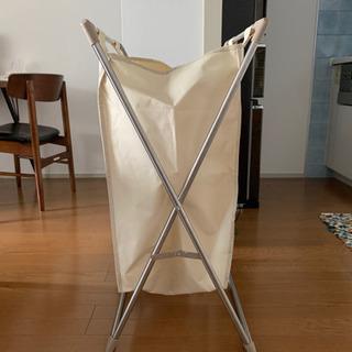 【取引中】無料!ランドリーバッグ 洗濯カゴ ランドリーボックス