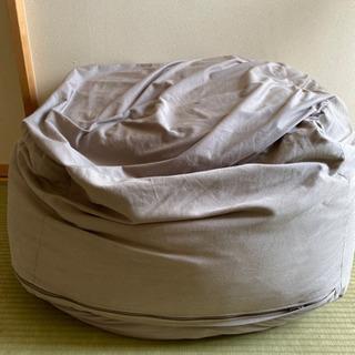 【ネット決済】ニトリ ビーズクッション無印カバーに2個入り
