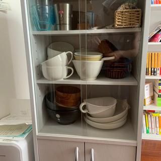 食器棚(一人暮らし用、白)まだ新しめです