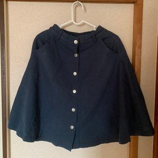 デニムスカート 紺色 50円
