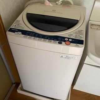 即決 洗濯機 6k TOSHIBA 中古 動作品 現状 中…