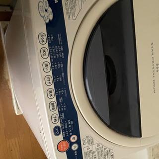 即決 洗濯機 6k TOSHIBA 中古 動作品 現状 中川区送料無料〜 早い者勝ち♪ - 売ります・あげます