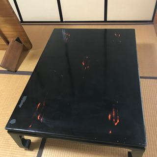 【座卓】かなり古い木製テーブル