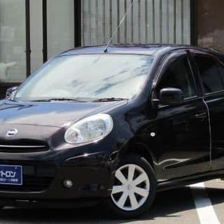 😁マーチ😁連帯保証人なしプラン適用車💕💕金利0%の自社ローン💛新...