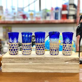 切子グラス5つセット