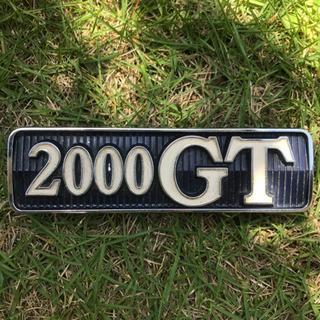 【当時物.旧車】NISSAN 純正 2000GT エンブレム