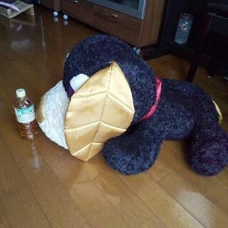 【ネット決済】デッカイお茶犬のぬいぐるみ