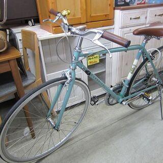 クラシカル 自転車 25インチ 緑系 シティサイクル CLASS...
