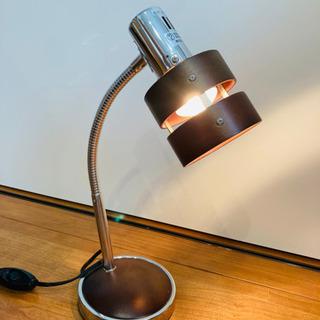 ●テーブルランプ ウッドリング ダークブラウン