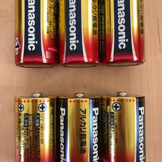 【新品】Panasonic アルカリ乾電池 単1