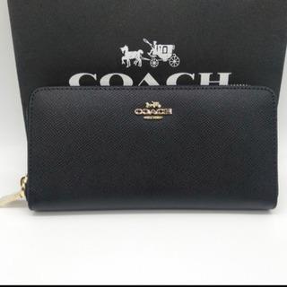 [新品未使用] COACH コーチ ブラック 長財布
