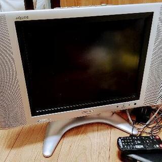 シャープ AQUOS 15インチ液晶テレビ