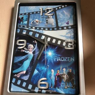 アナと雪の女王 掛け時計