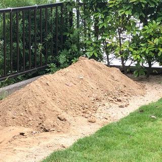 (お渡し予定者決定しました)庭の土
