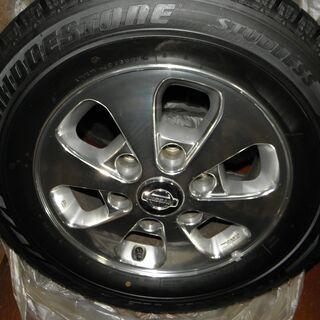 エルグランド・ライダー APE-50 純正ホイール+スタッドレスタイヤ