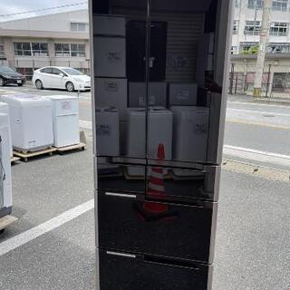 冷蔵庫 6ドア 日立 2014年製 517L RG5200💳自...
