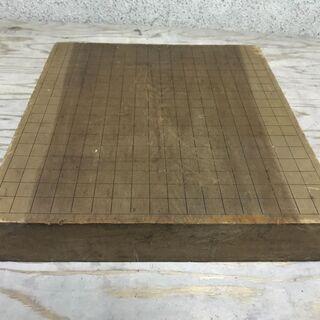 木製 囲碁盤 脚無し 幅41.5cm×奥行44.5cm×高さ8cm
