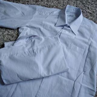 美品 学生 A165サイズ半袖 スクールシャツ 男子 白Yシャツ...