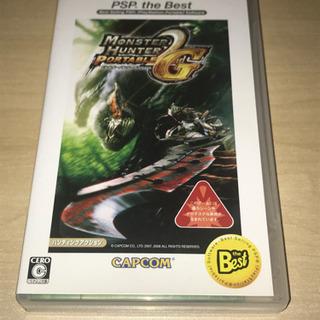 PSP モンスターハンターポータブル 2nd G