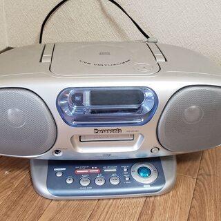ポータブルCD/MDプレイヤー Panasonic RX-MDX60