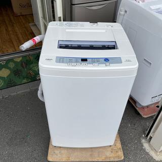 洗濯機 アクア AQW-S60E 2017年 【安心の3ヶ月保証...