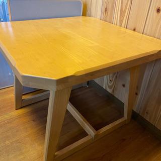 【値下げ】テーブル四角型 お譲りします。