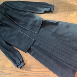 冠婚葬祭 アンサンブル 黒 喪服 礼服